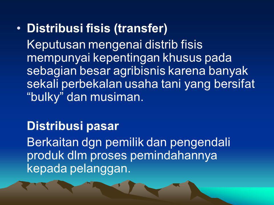 Distribusi fisis (transfer)
