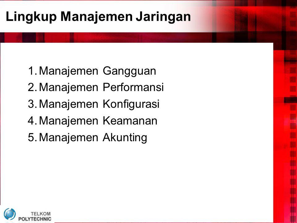 Lingkup Manajemen Jaringan