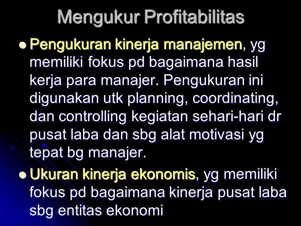 Mengukur Profitabilitas
