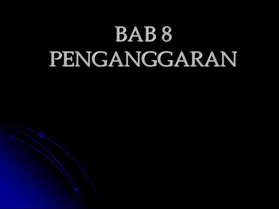 BAB 8 PENGANGGARAN