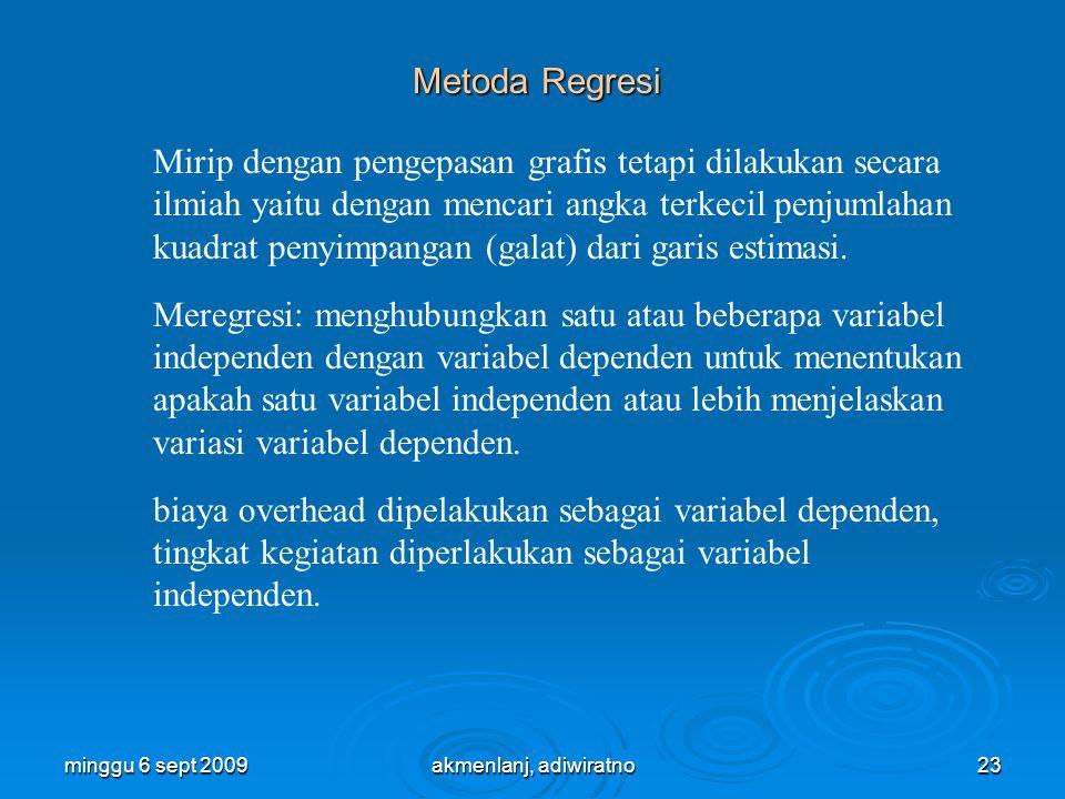 Metoda Regresi