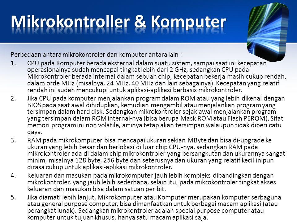 Mikrokontroller & Komputer