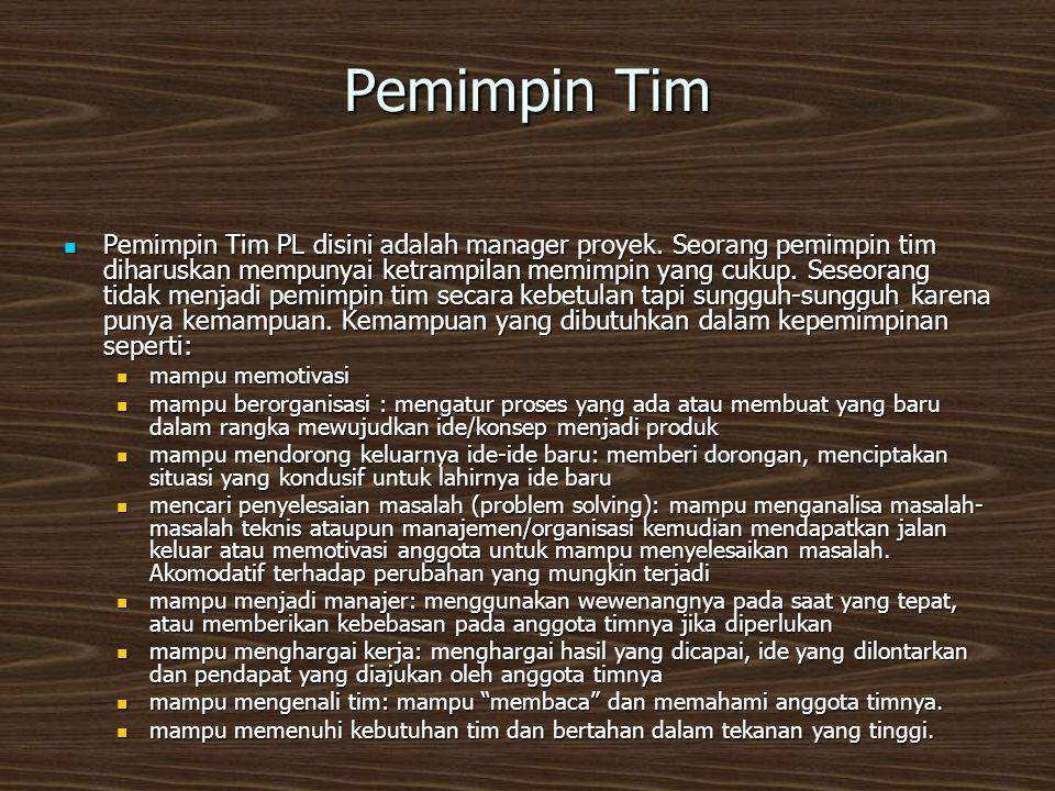 Pemimpin Tim