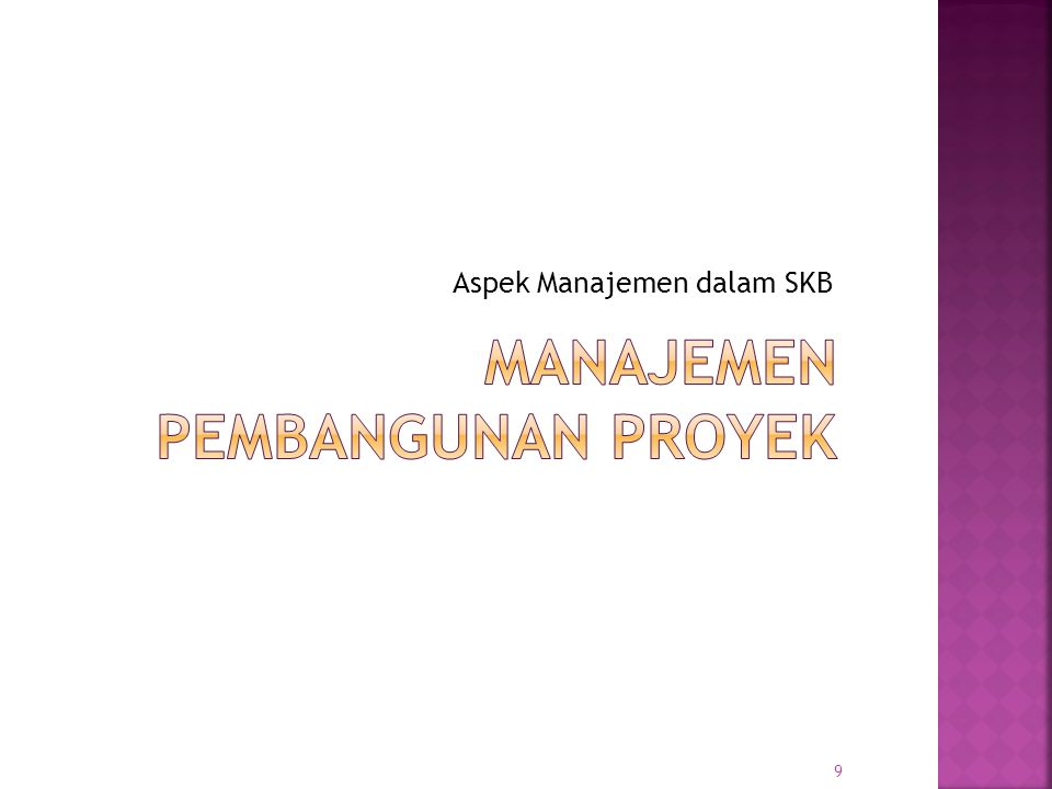 Manajemen Pembangunan Proyek
