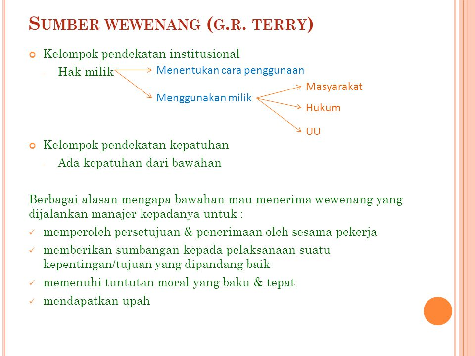 Sumber wewenang (g.r. terry)