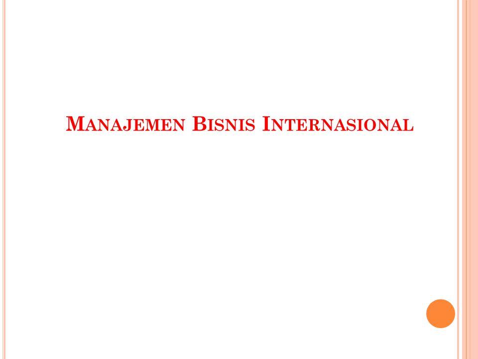 Manajemen Bisnis Internasional