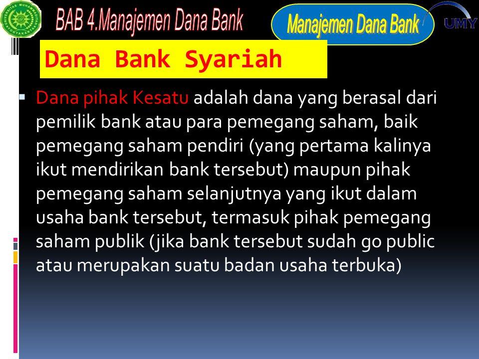 Dana Bank Syariah