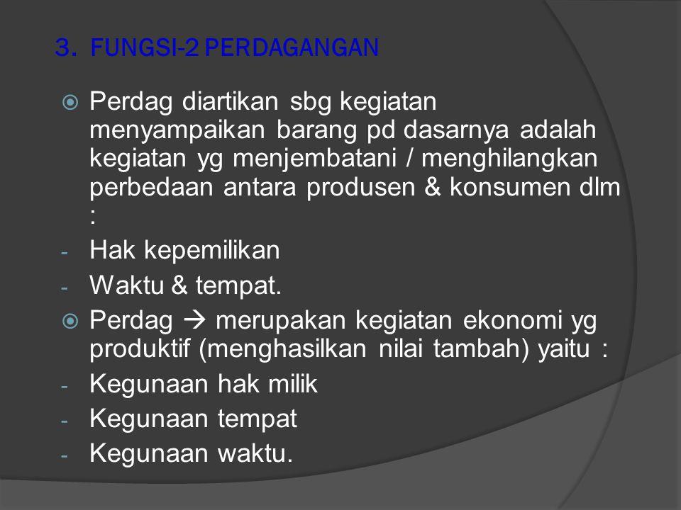 3. FUNGSI-2 PERDAGANGAN