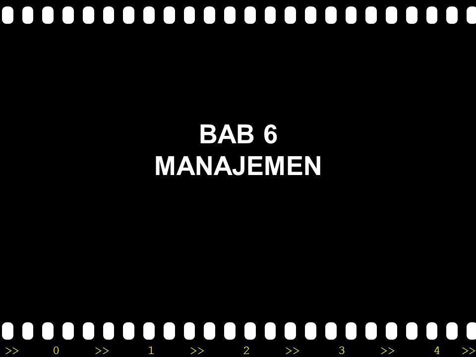 BAB 6 MANAJEMEN