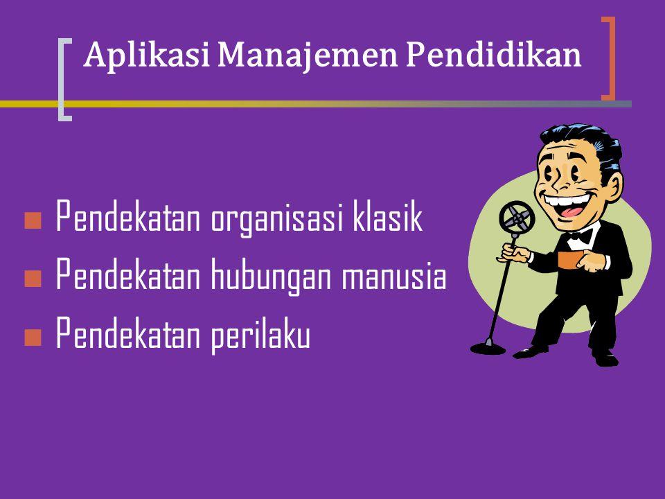 Aplikasi Manajemen Pendidikan