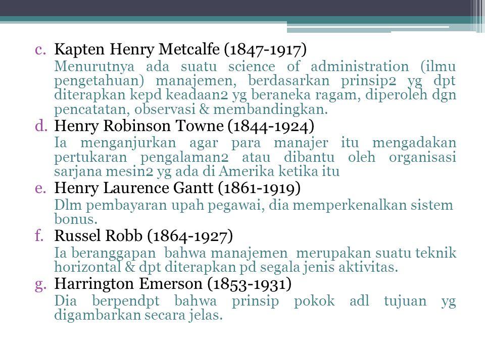 Kapten Henry Metcalfe (1847-1917)