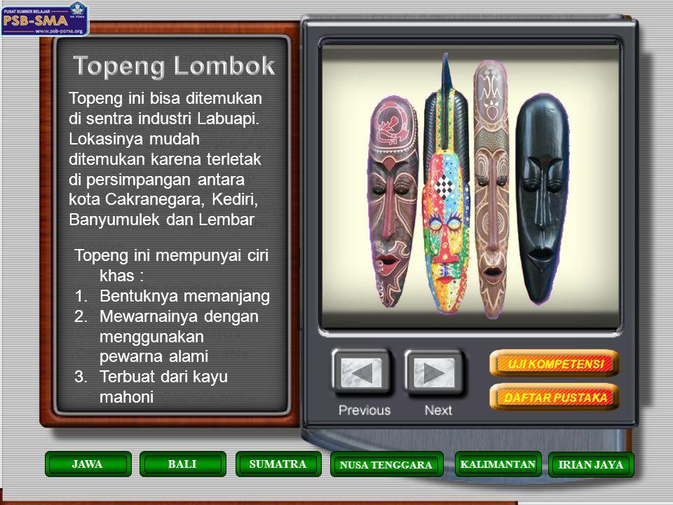 Topeng Lombok