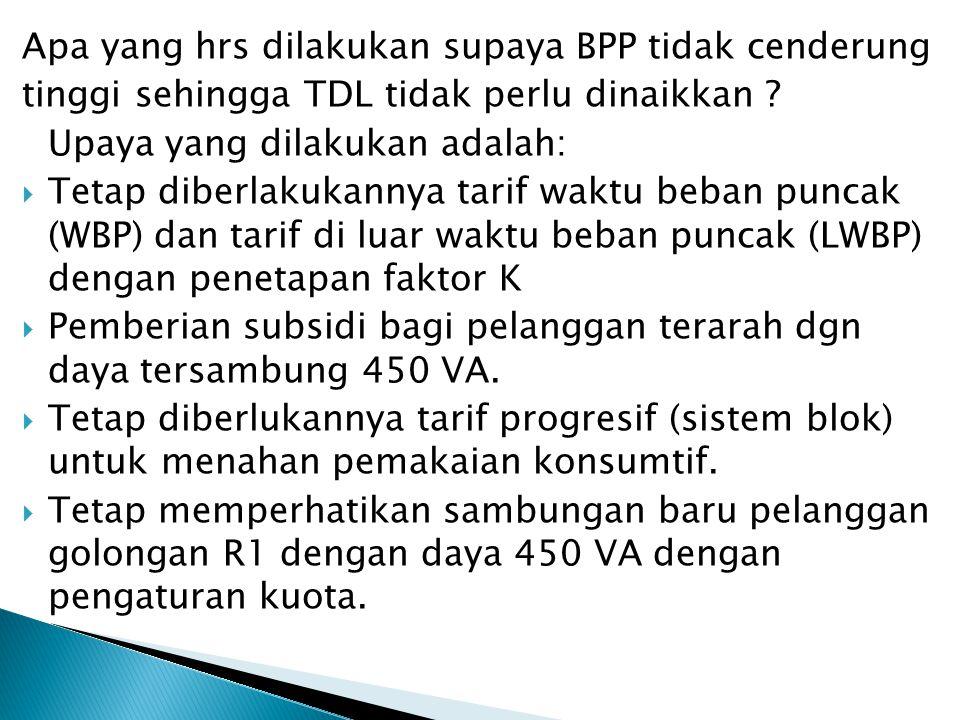 Apa yang hrs dilakukan supaya BPP tidak cenderung