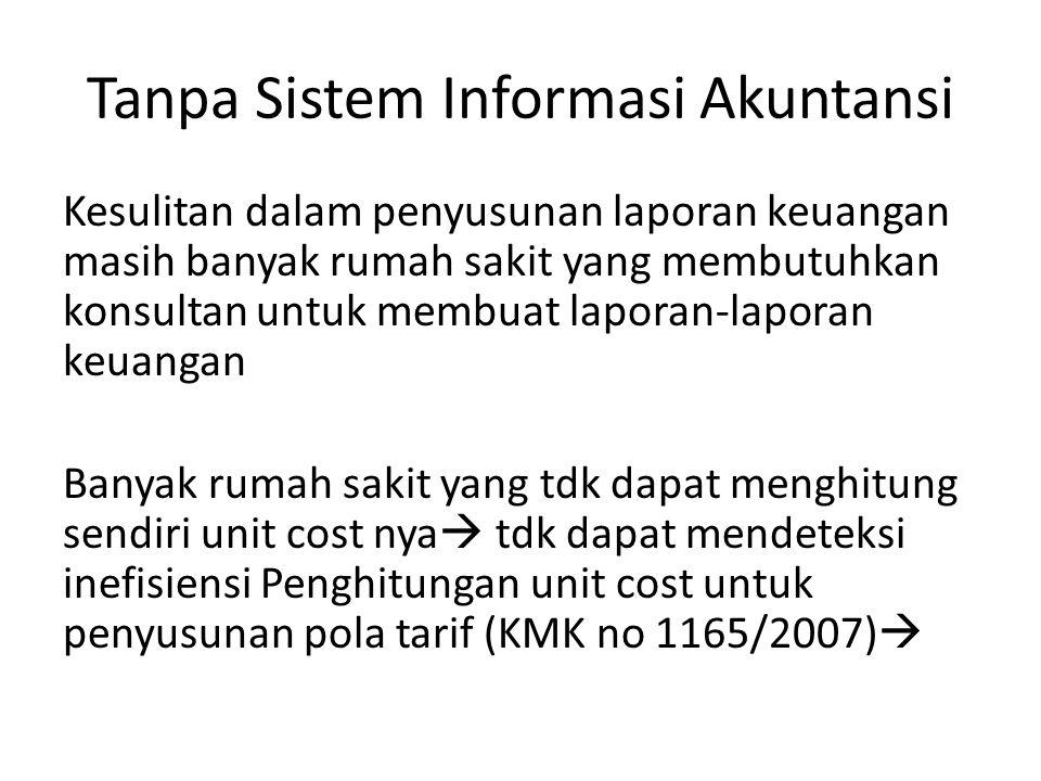 Tanpa Sistem Informasi Akuntansi