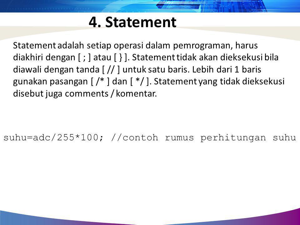 4. Statement