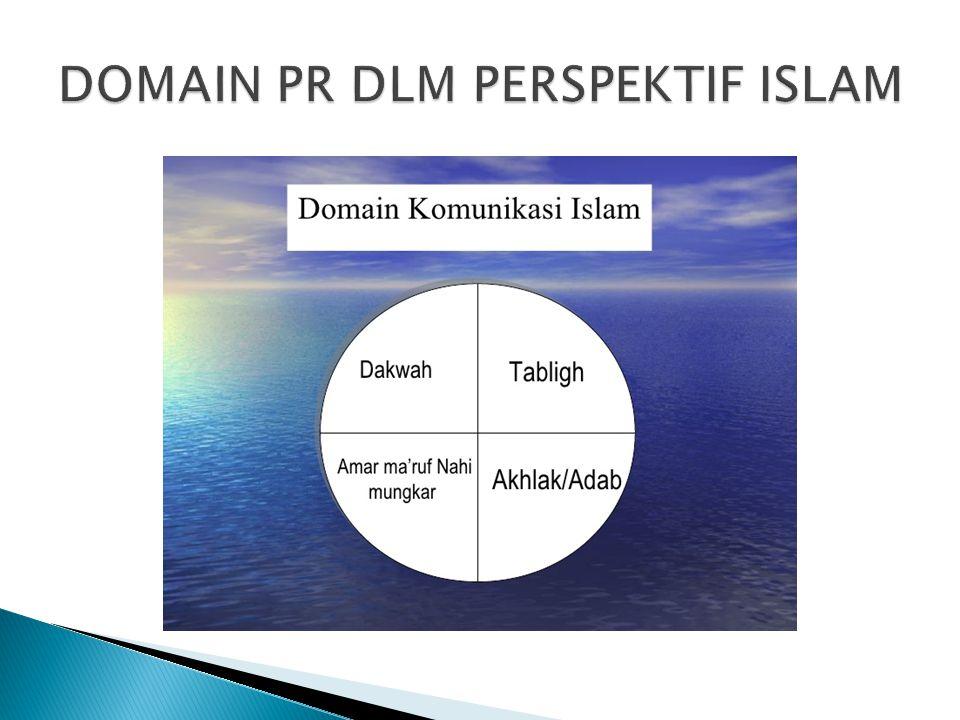 DOMAIN PR DLM PERSPEKTIF ISLAM