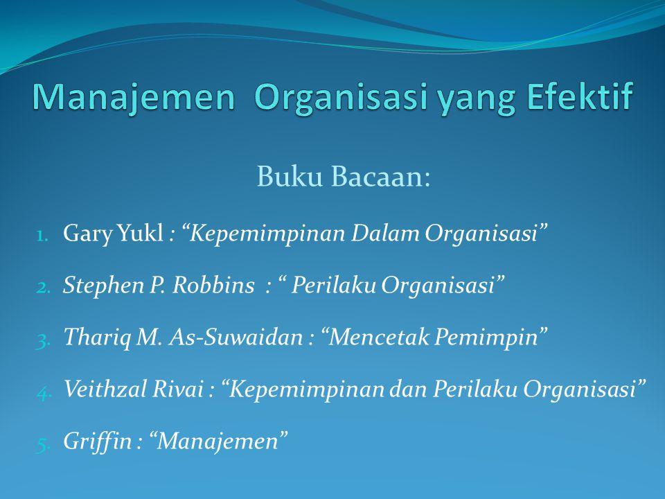 Manajemen Organisasi yang Efektif