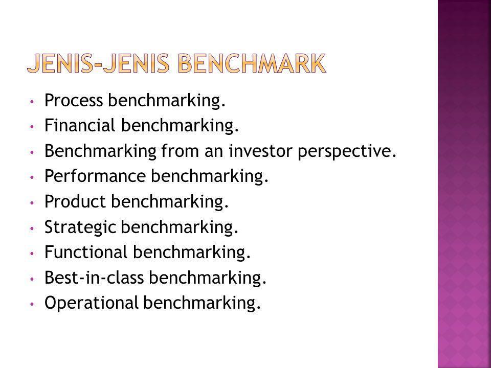 Jenis-Jenis Benchmark