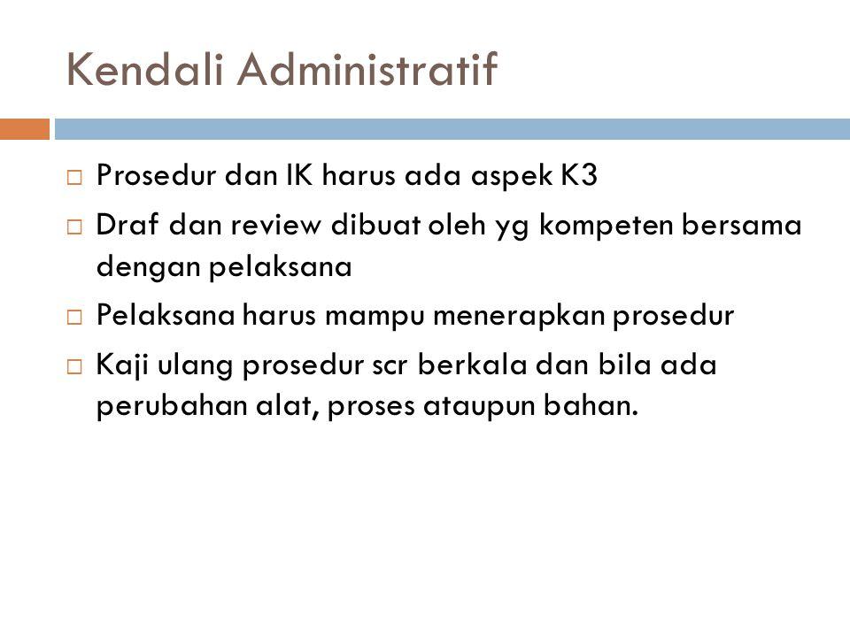 Kendali Administratif