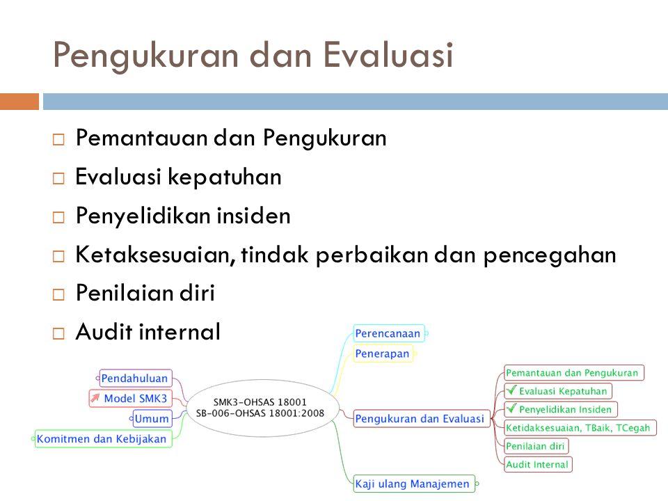 Pengukuran dan Evaluasi