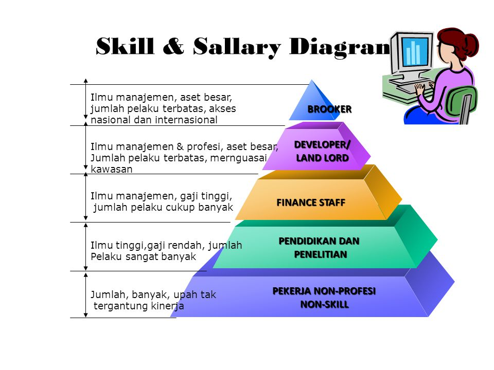 Skill & Sallary Diagram