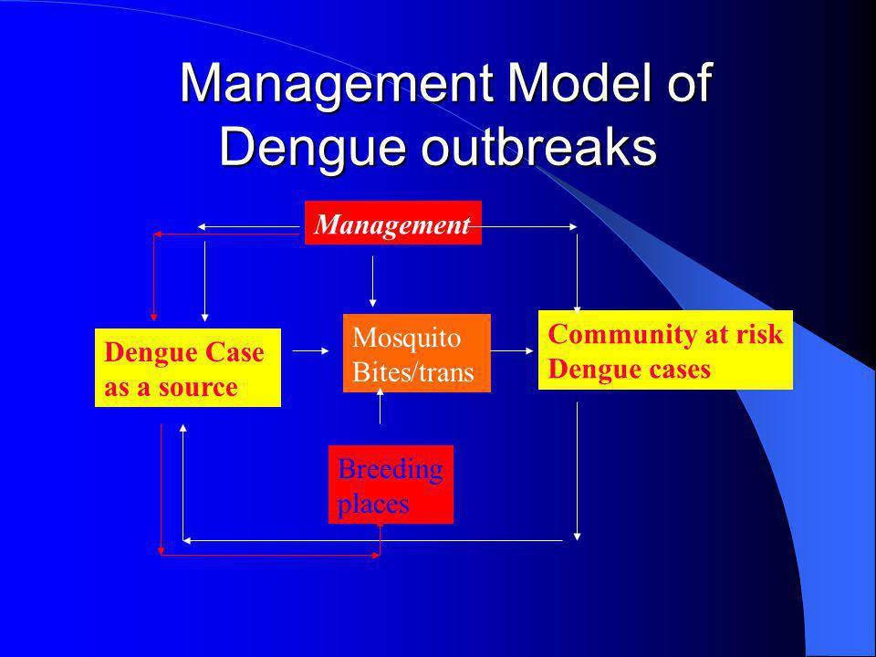 Management Model of Dengue outbreaks
