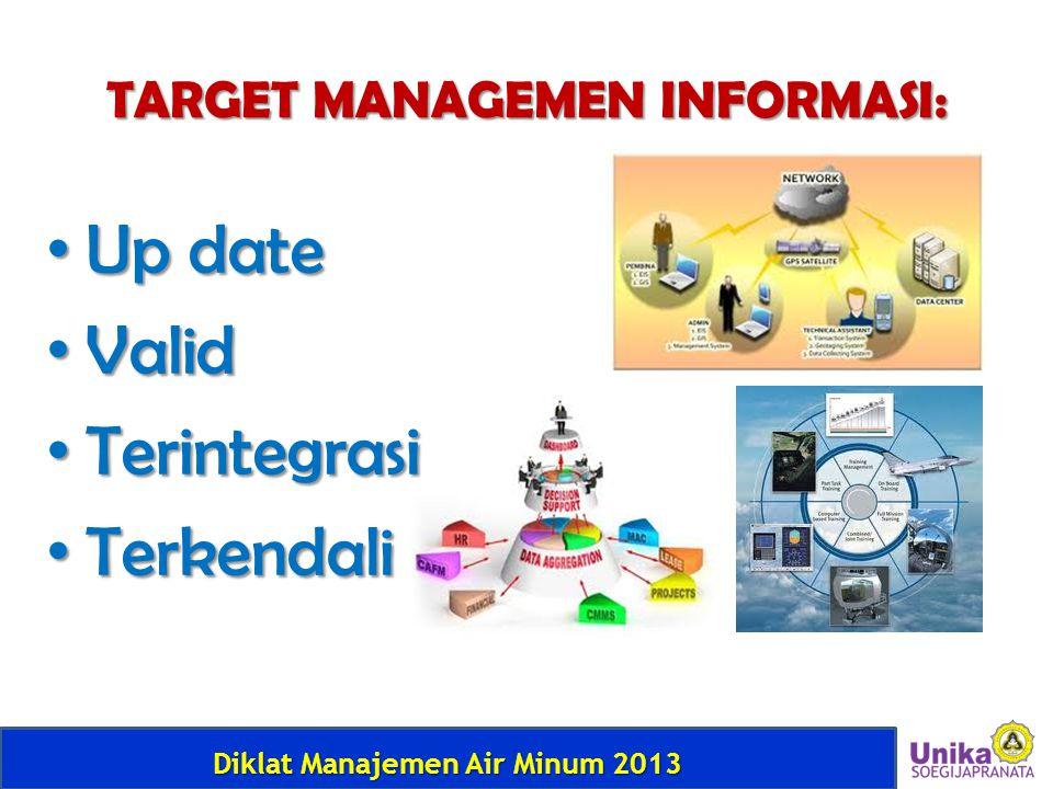 TARGET MANAGEMEN INFORMASI: