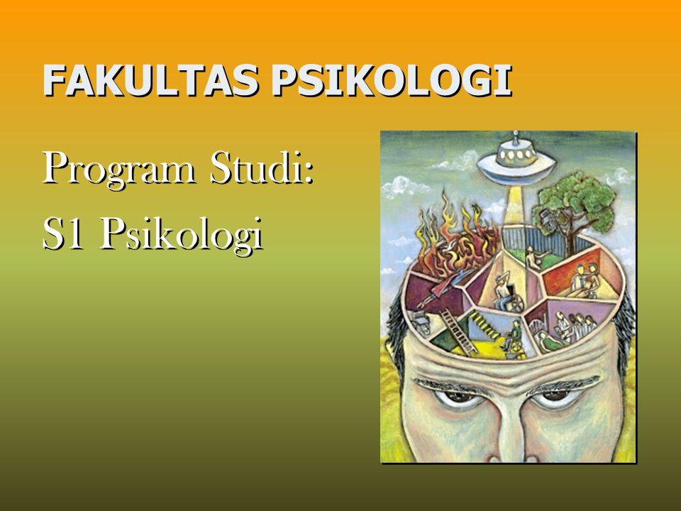 FAKULTAS PSIKOLOGI Program Studi: S1 Psikologi