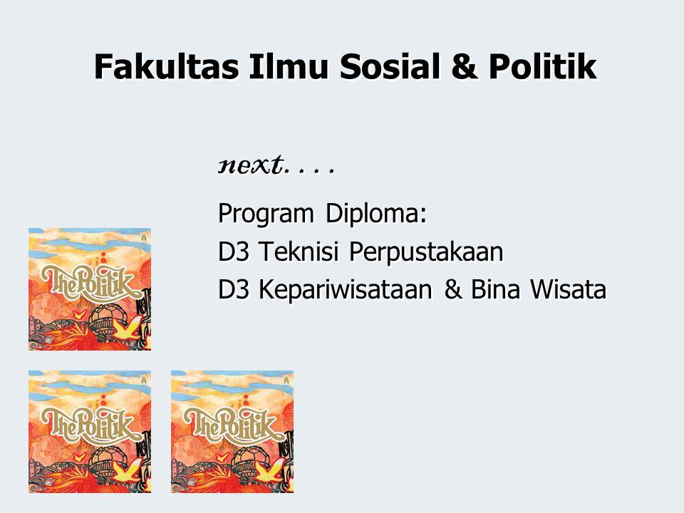Fakultas Ilmu Sosial & Politik