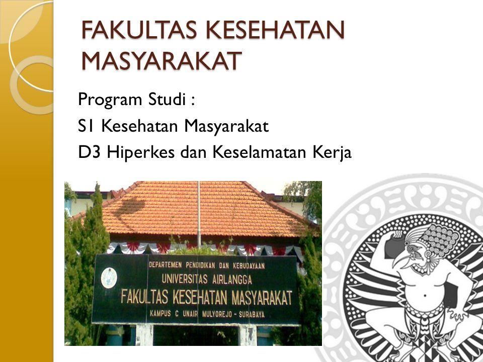 FAKULTAS KESEHATAN MASYARAKAT