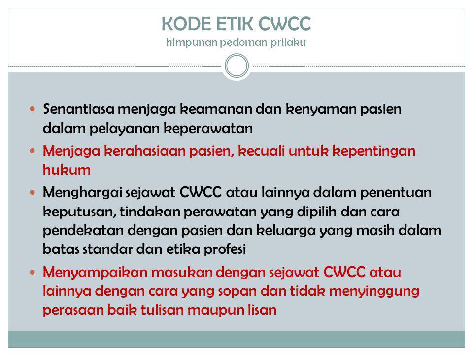 KODE ETIK CWCC himpunan pedoman prilaku