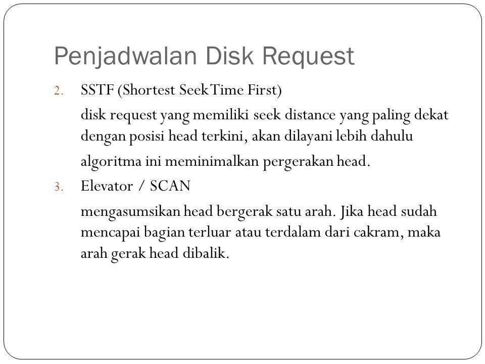 Penjadwalan Disk Request
