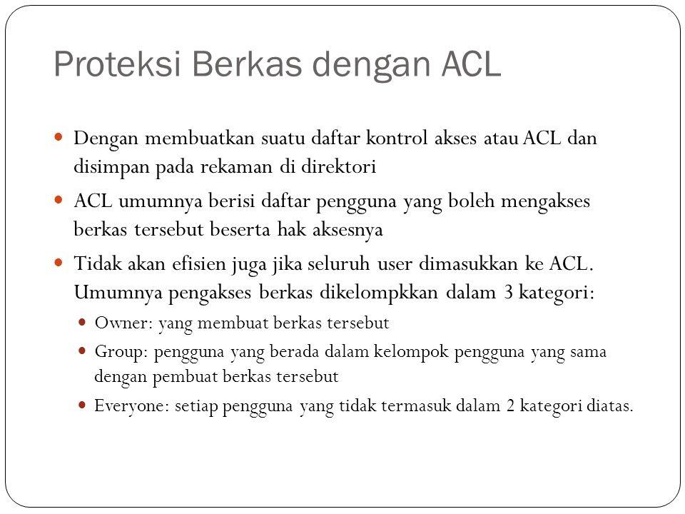 Proteksi Berkas dengan ACL