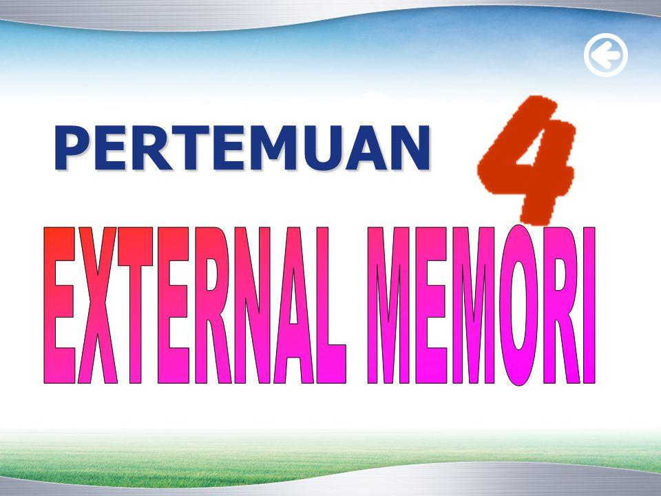 PERTEMUAN EXTERNAL MEMORI