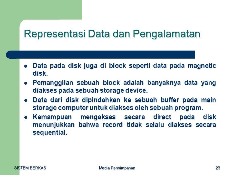 Representasi Data dan Pengalamatan