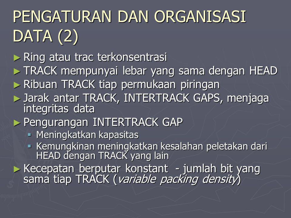 PENGATURAN DAN ORGANISASI DATA (2)