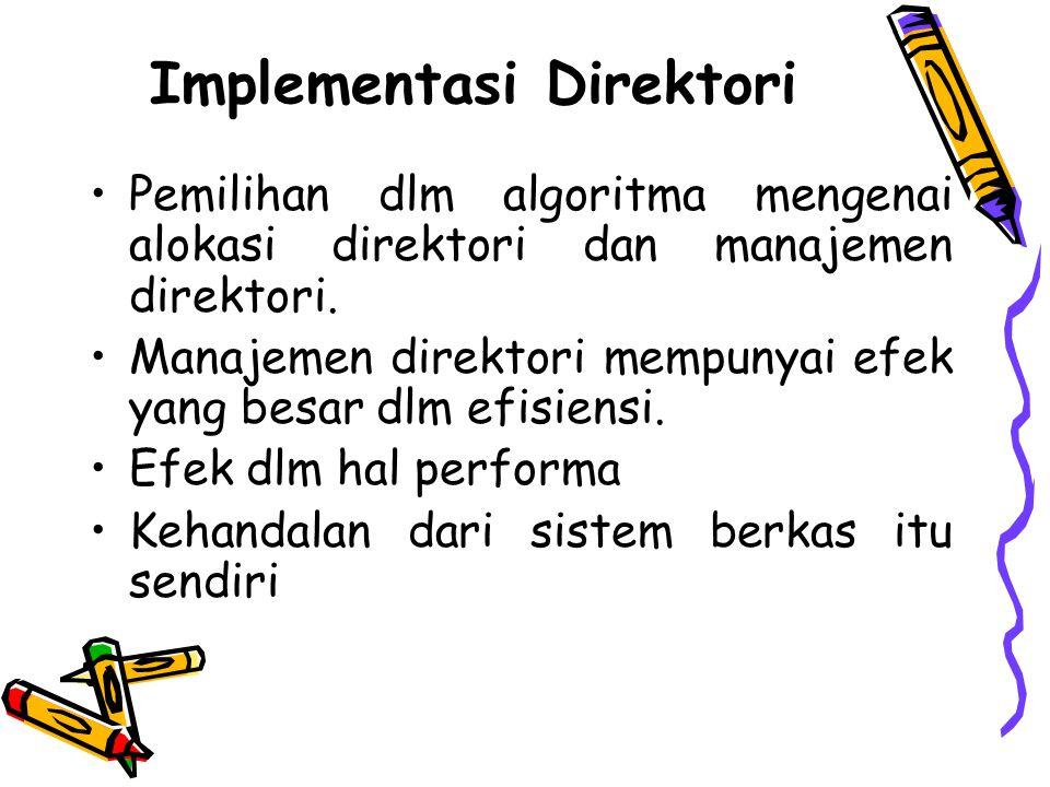 Implementasi Direktori