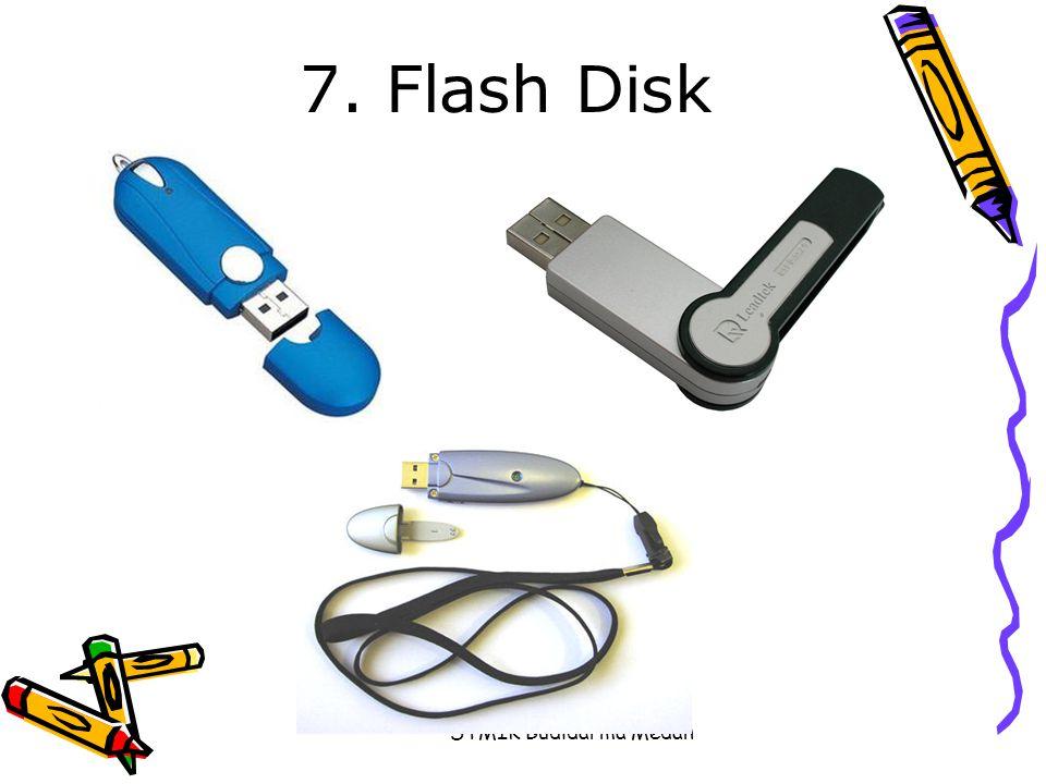 7. Flash Disk STMIK Budidarma Medan