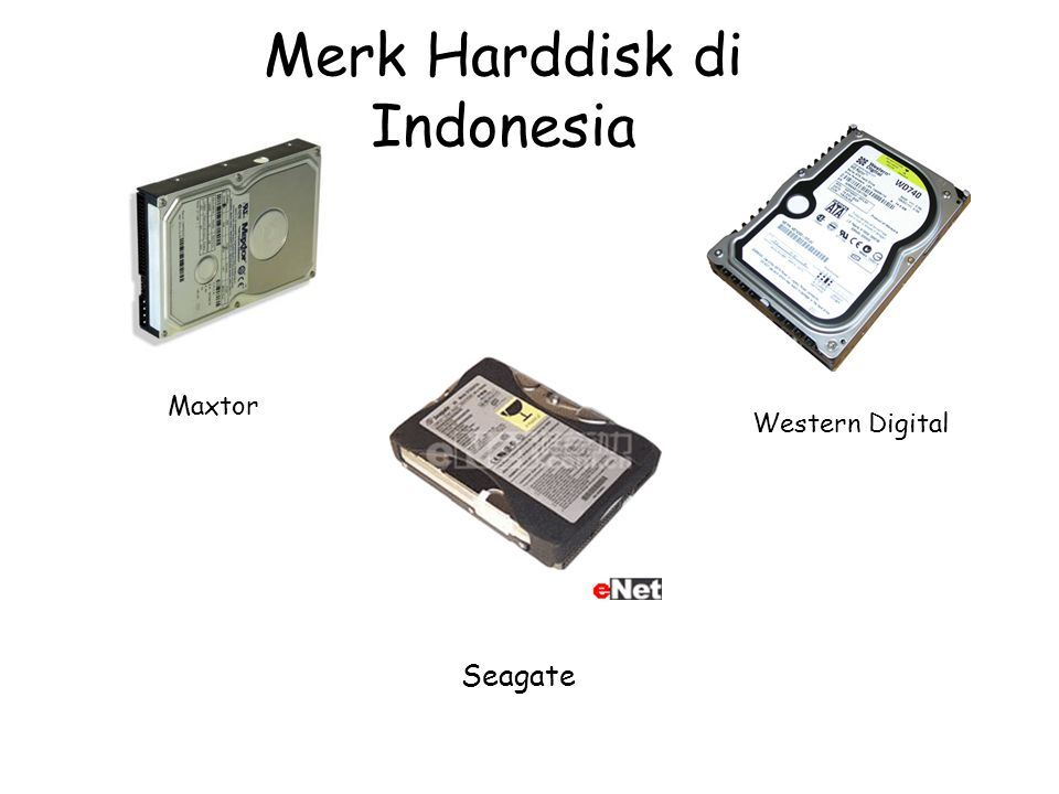Merk Harddisk di Indonesia