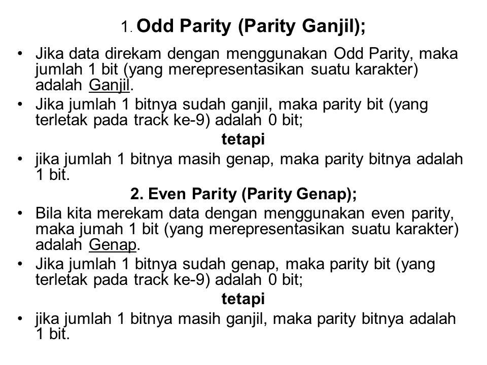 1. Odd Parity (Parity Ganjil);