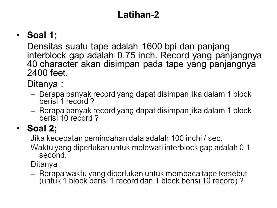 Latihan-2 Soal 1;