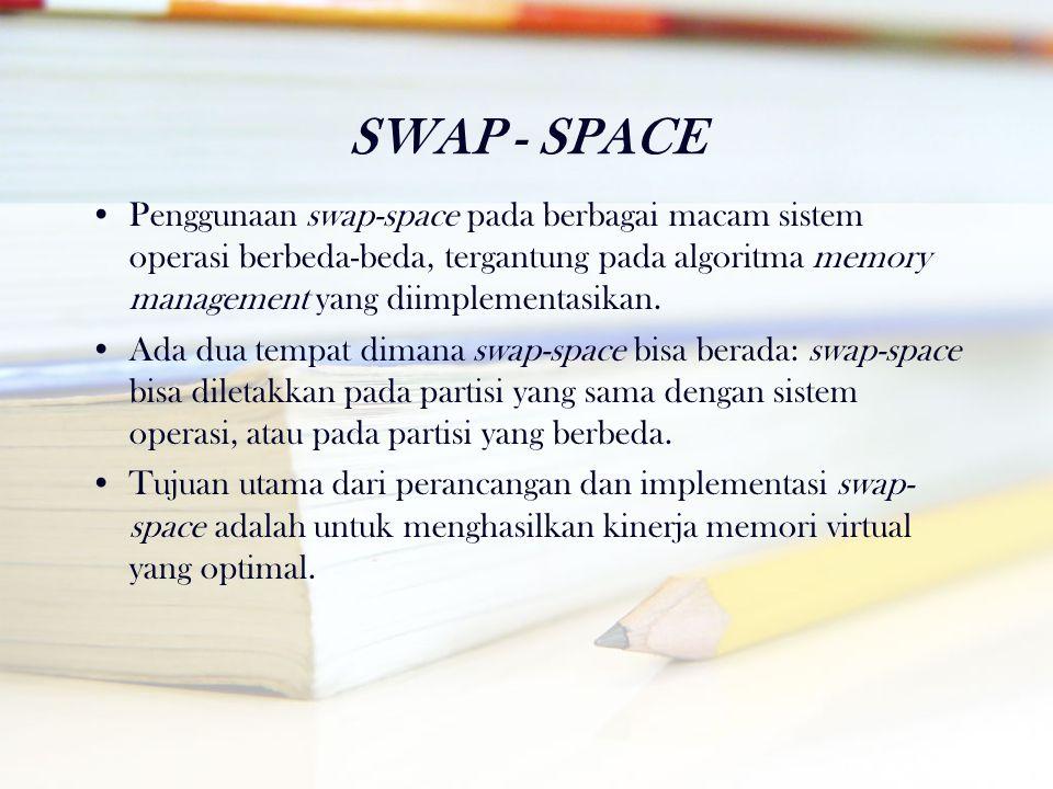 SWAP - SPACE