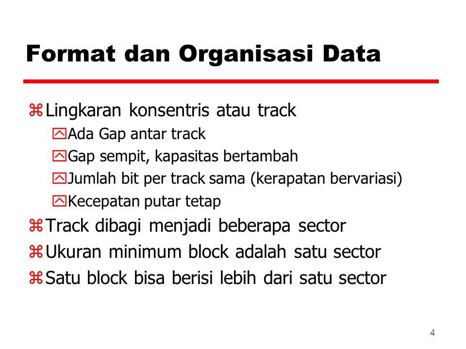 Format dan Organisasi Data