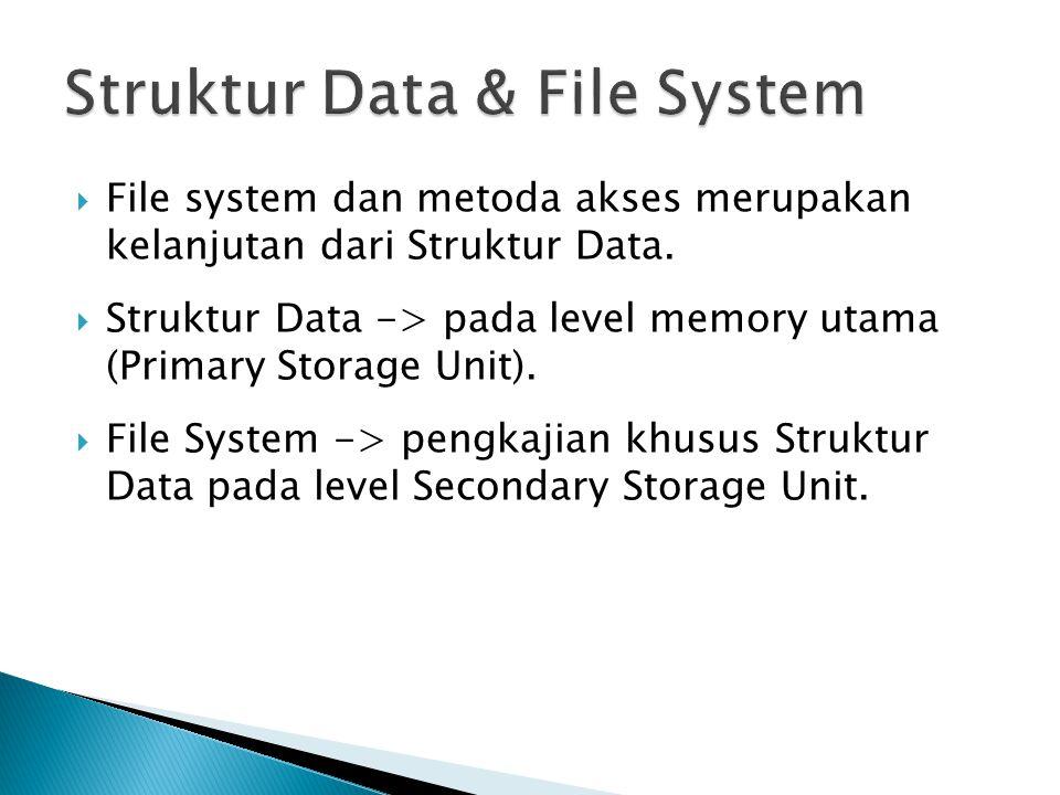 Struktur Data & File System