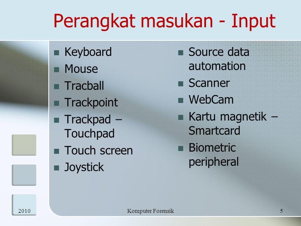 Perangkat masukan - Input