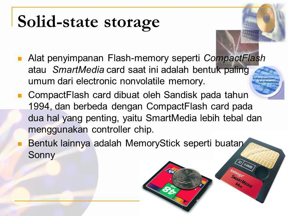 Solid-state storage