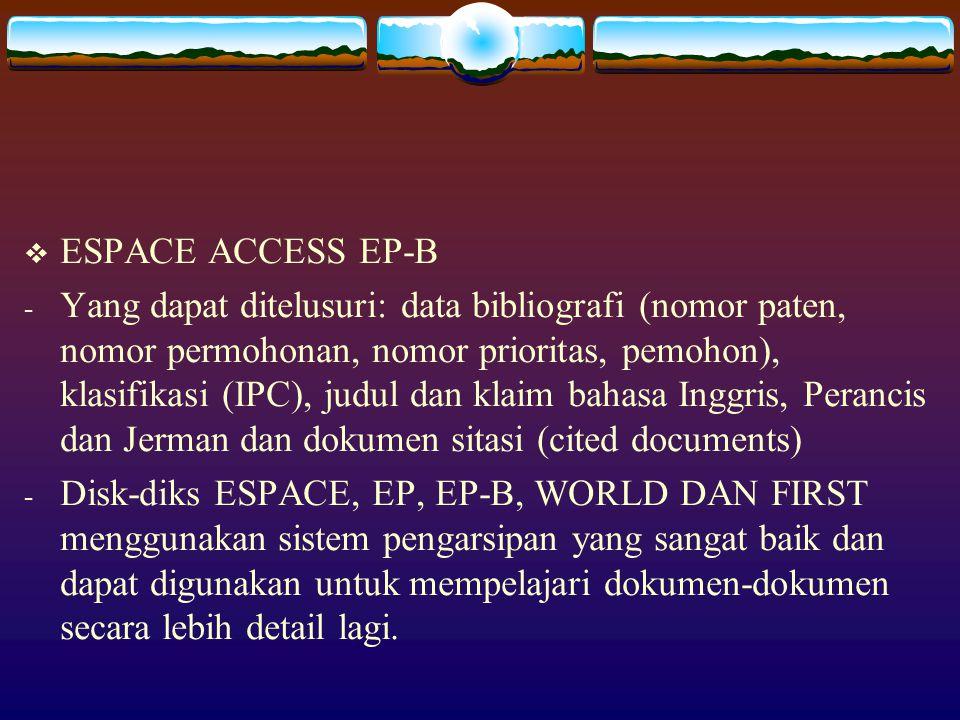 ESPACE ACCESS EP-B