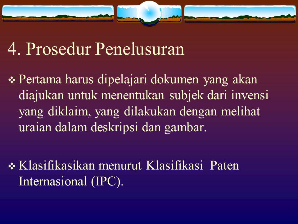 4. Prosedur Penelusuran