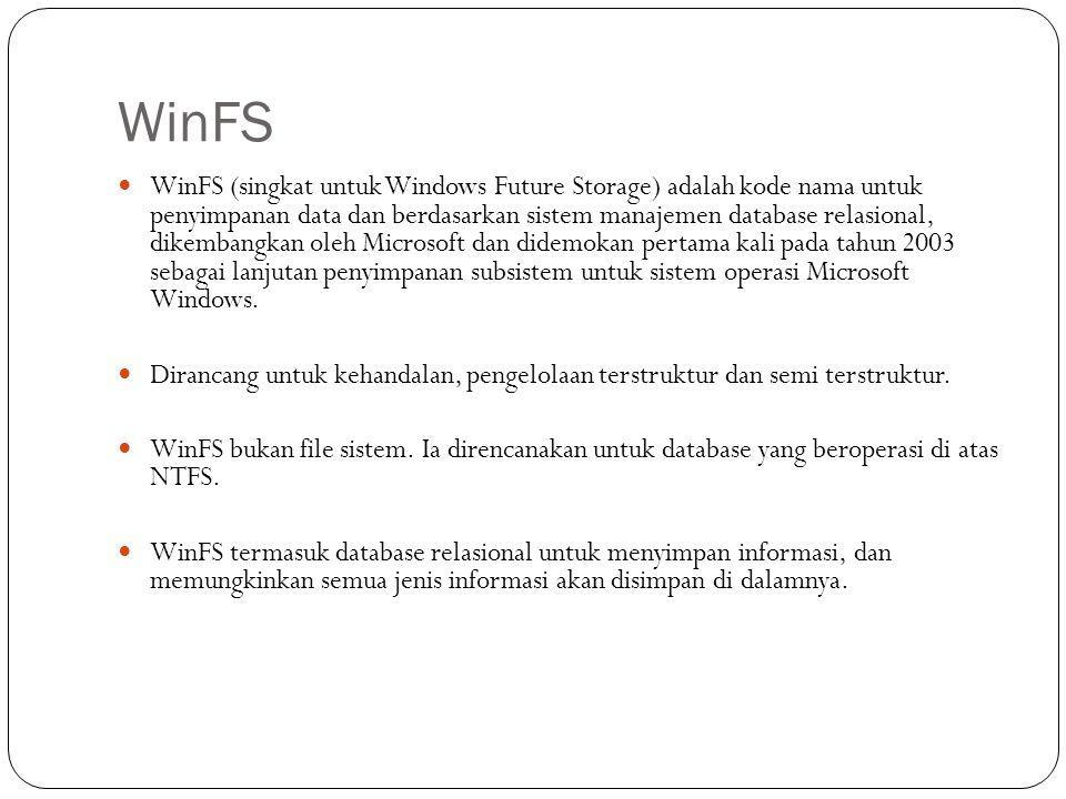 WinFS