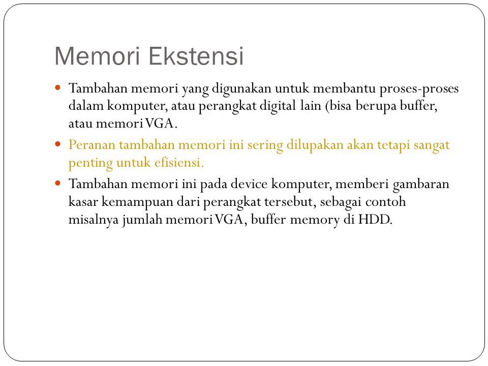 Memori Ekstensi